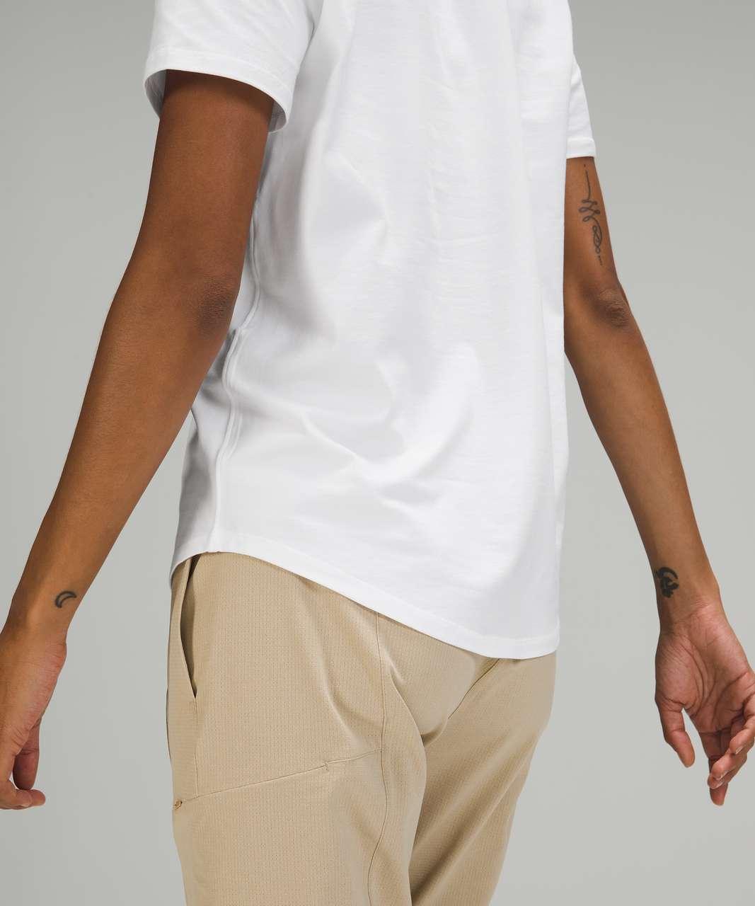 Lululemon Love Tee Short Sleeve V-Neck T-Shirt - White (First Release)