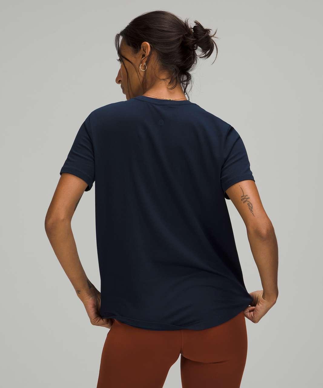 Lululemon Love Tee Short Sleeve V-Neck T-Shirt - True Navy