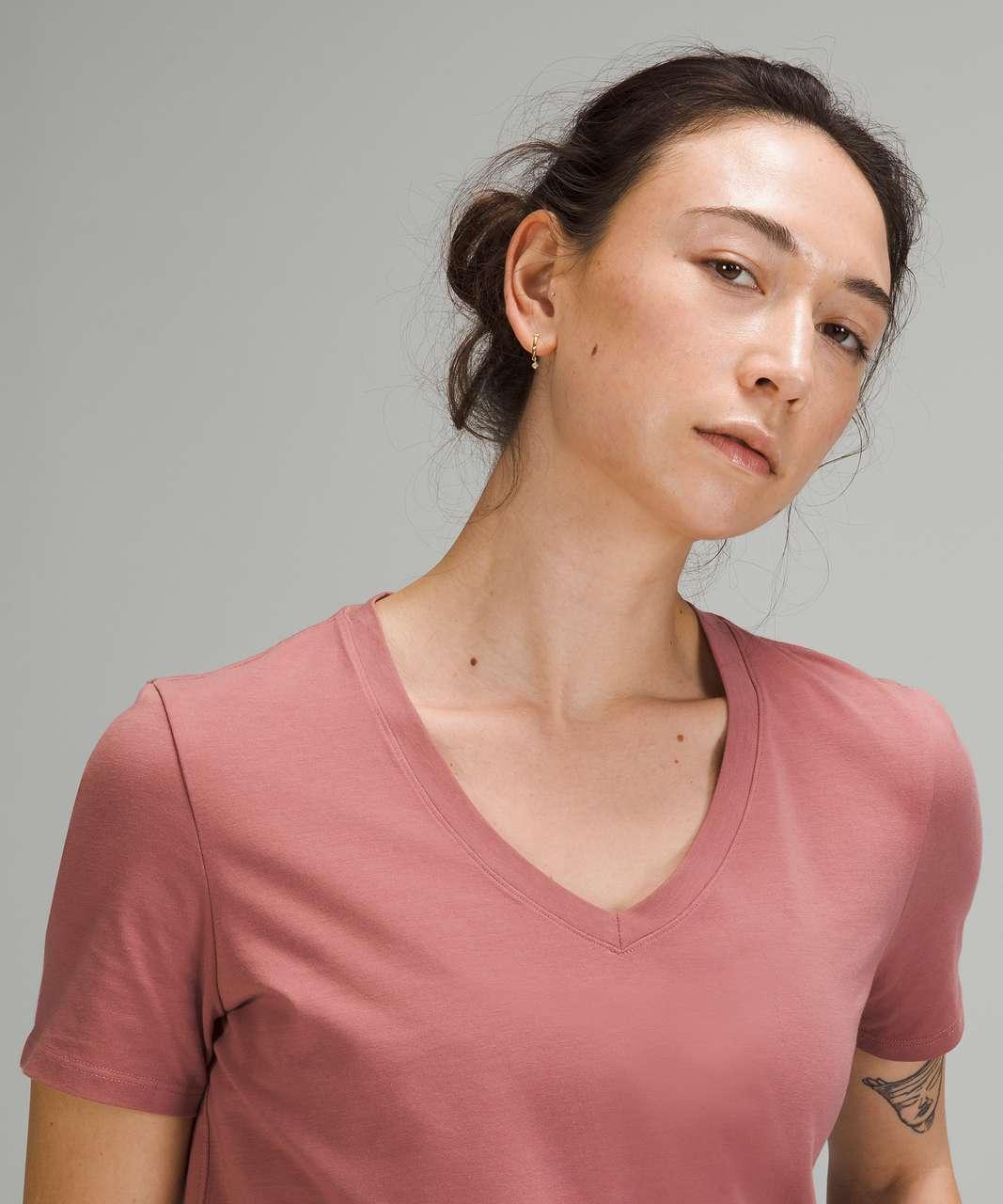 Lululemon Love Tee Short Sleeve V-Neck T-Shirt - Spiced Chai