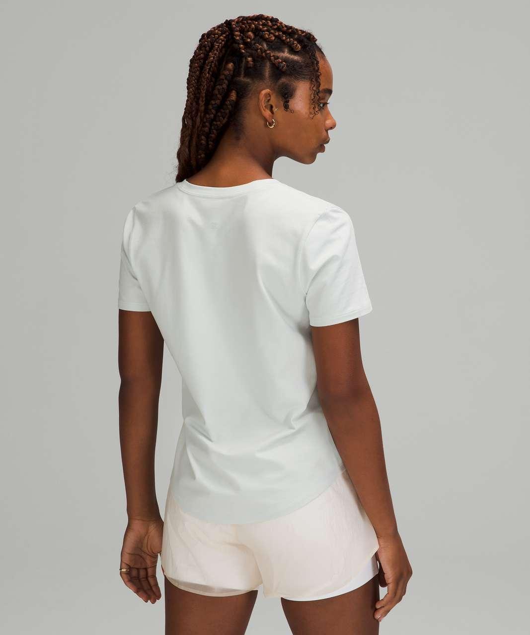 Lululemon Love Tee Short Sleeve V-Neck T-Shirt - Ocean Air