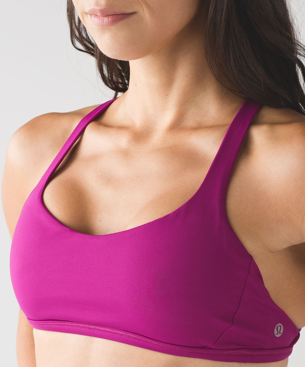 Lululemon Free To Be Zen Bra - Deep Fuschia
