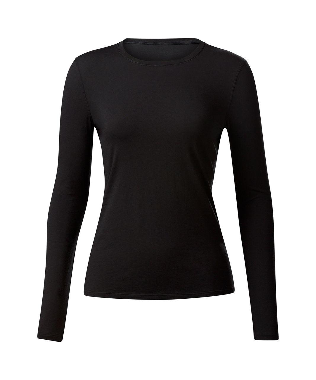 Lululemon Kitsilano Long Sleeve - Black