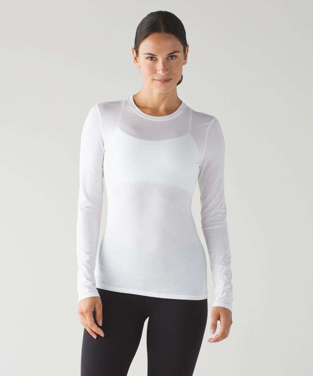 Lululemon Kitsilano Long Sleeve - White