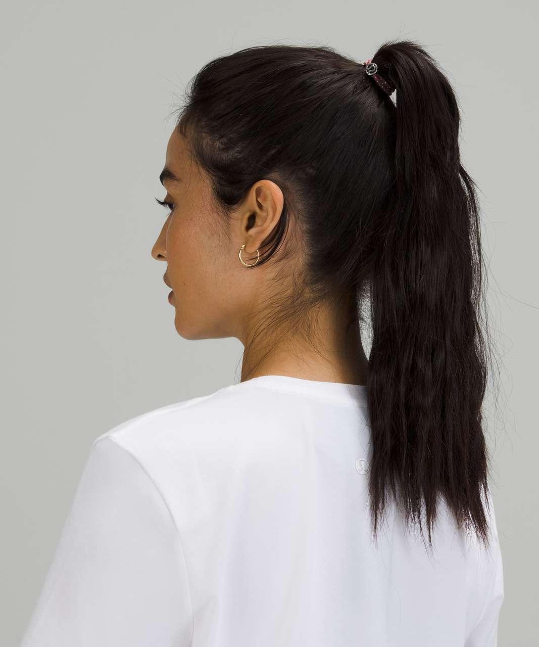 Lululemon Glow On Hair Ties - Ocean Air / Crispin Green / Spiced Chai