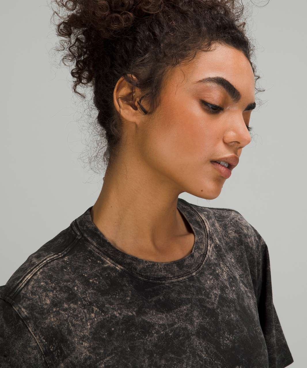 Lululemon All Yours Tee - Cloudy Wash Black