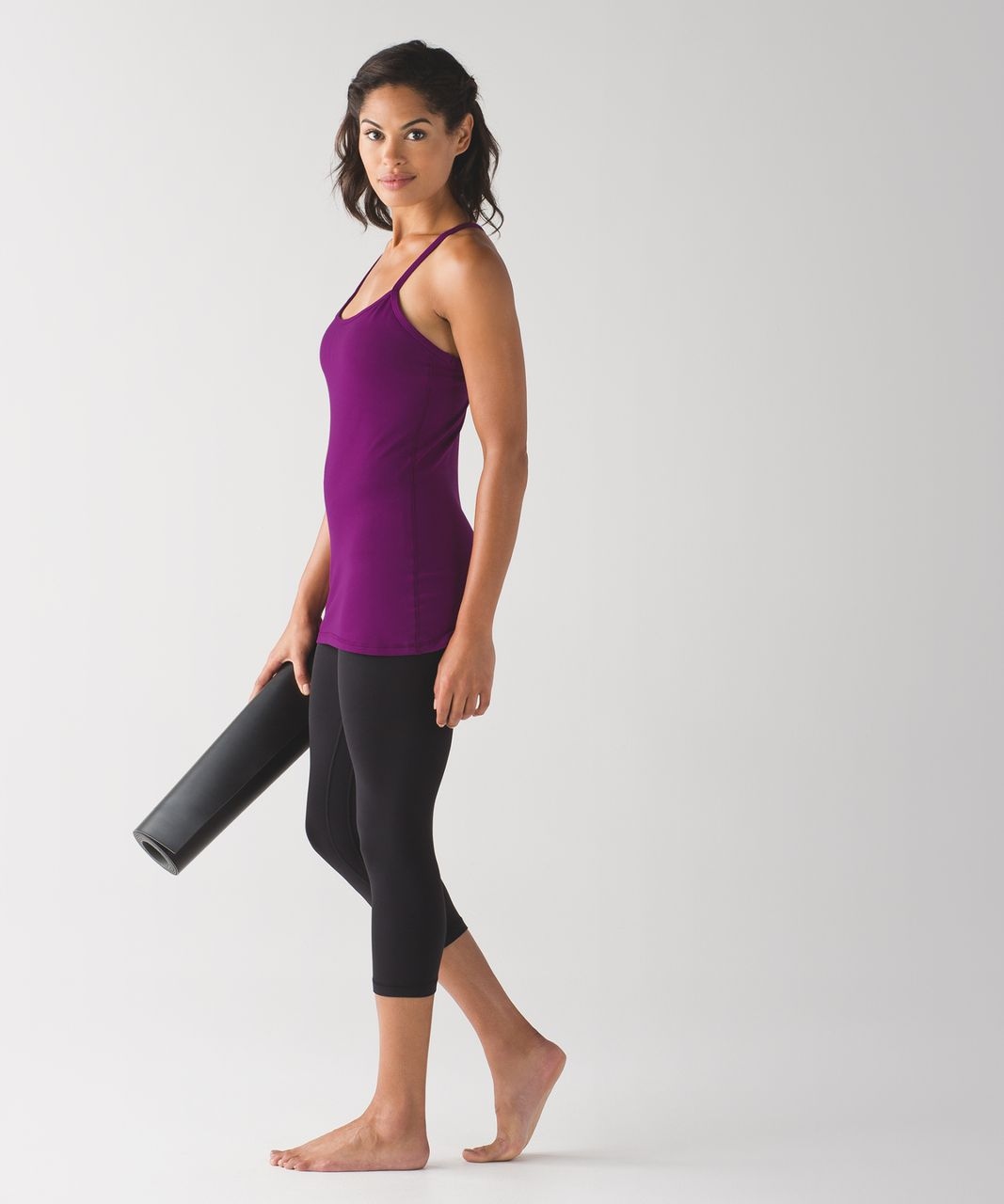 Lululemon Power Y Tank - Chilled Grape