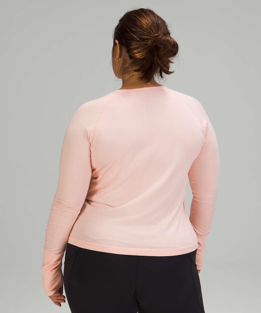 Lululemon Swiftly Tech Long Sleeve 2.0 *Race Length - Pink Mist / Pink Mist