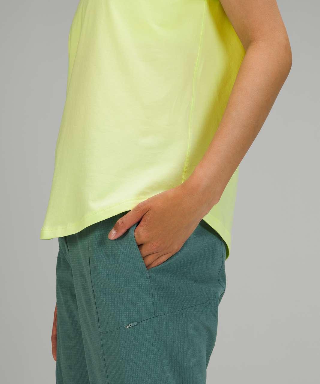 Lululemon Love Tee Short Sleeve V-Neck T-Shirt - Crispin Green