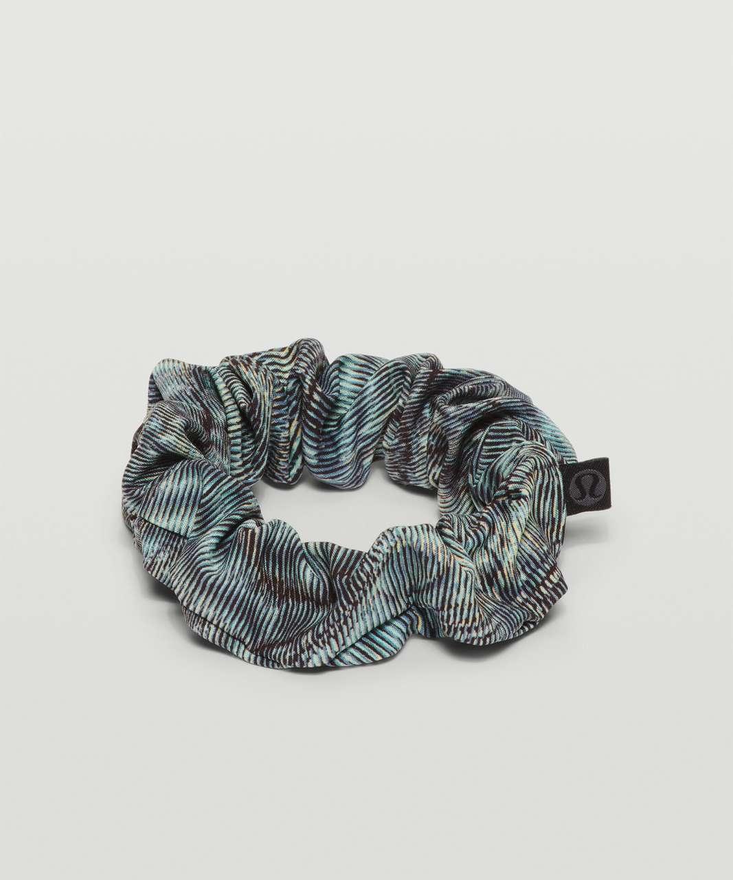Lululemon Uplifting Scrunchie - Dimensional Icing Blue Multi