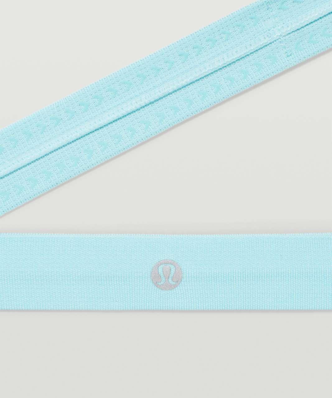 Lululemon Cardio Cross Trainer Headband - Icing Blue