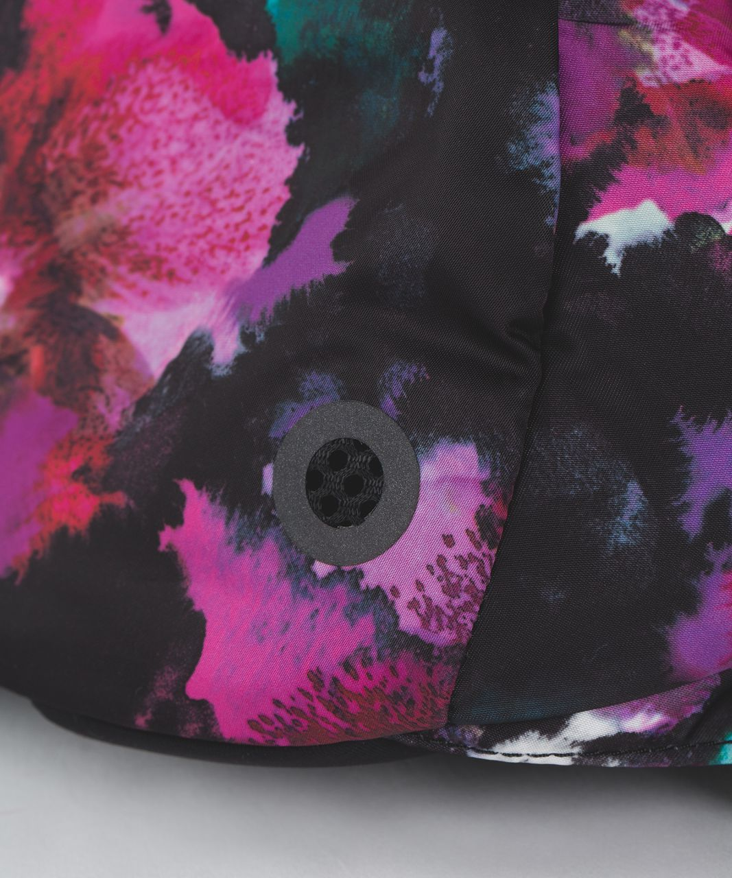 Lululemon Run All Day Backpack - Midnight Bloom Black Deep Fuschia / Black