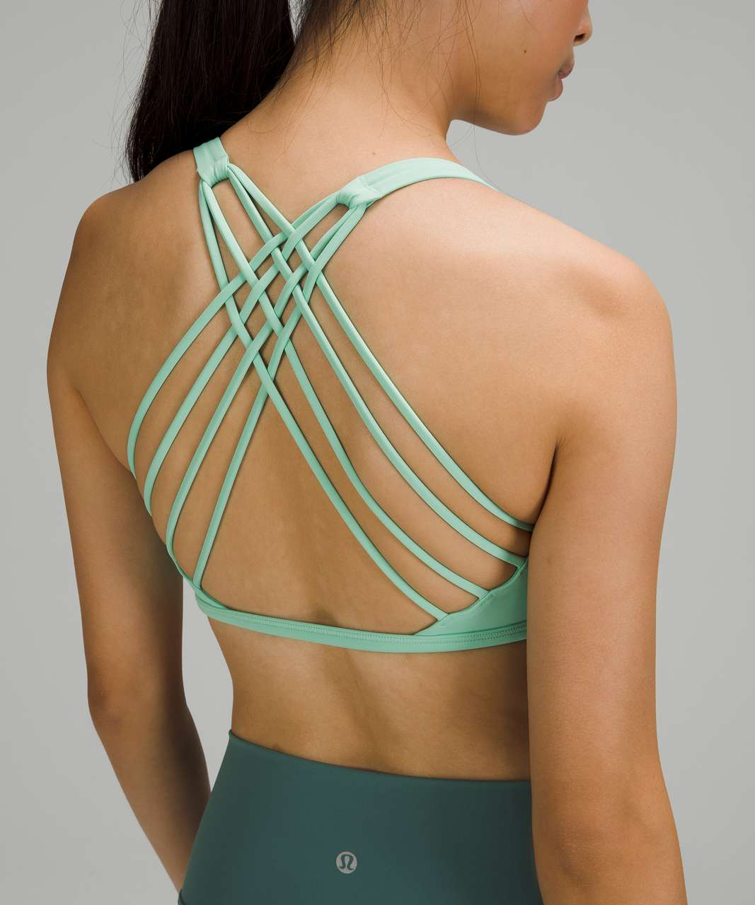 Lululemon Free to Be Bra - Wild *Light Support, A/B Cup - Wild Mint