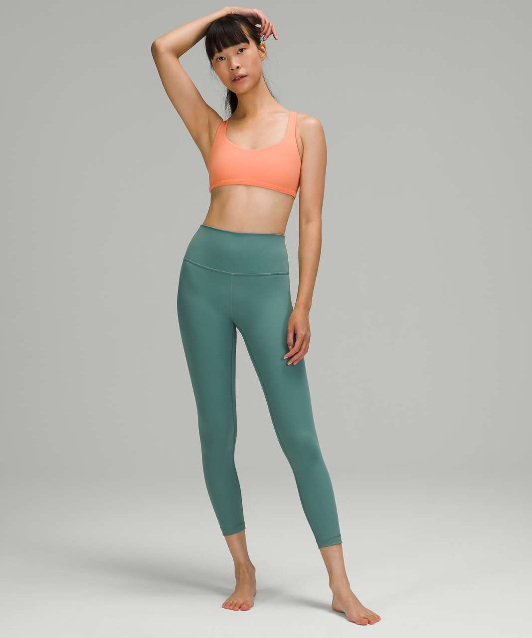 Lululemon Free to Be Bra - Wild *Light Support, A/B Cup - Golden Apricot