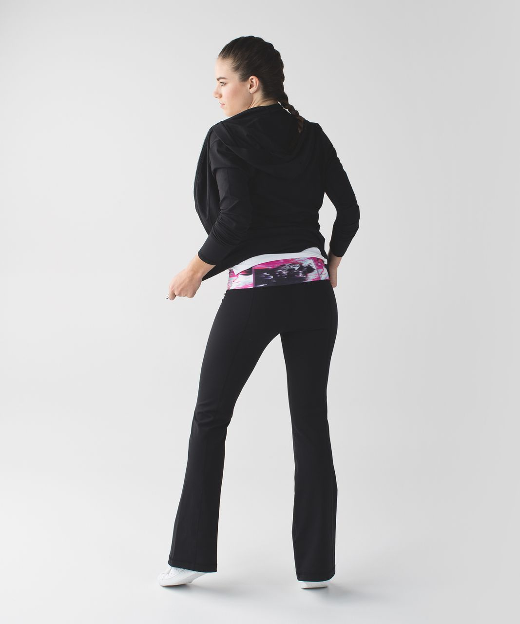 Lululemon Groove Pant III (Tall) - Black / Pigment Wind White Multi
