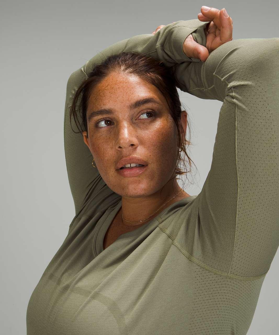 Lululemon Swiftly Tech Long Sleeve 2.0 *Race Length - Rosemary Green / Rosemary Green