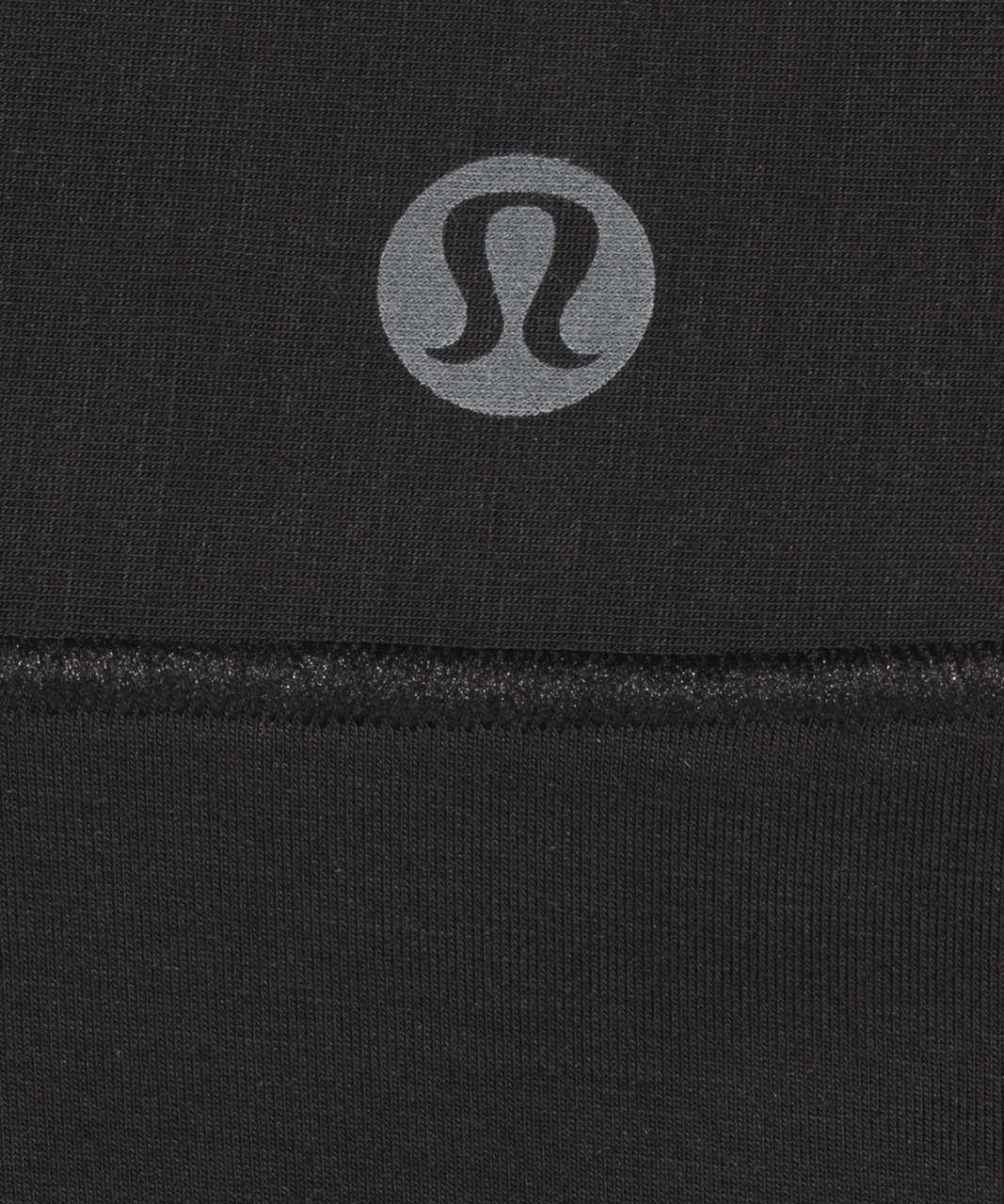 Lululemon UnderEase Mid Rise Thong Underwear 3 Pack - Black