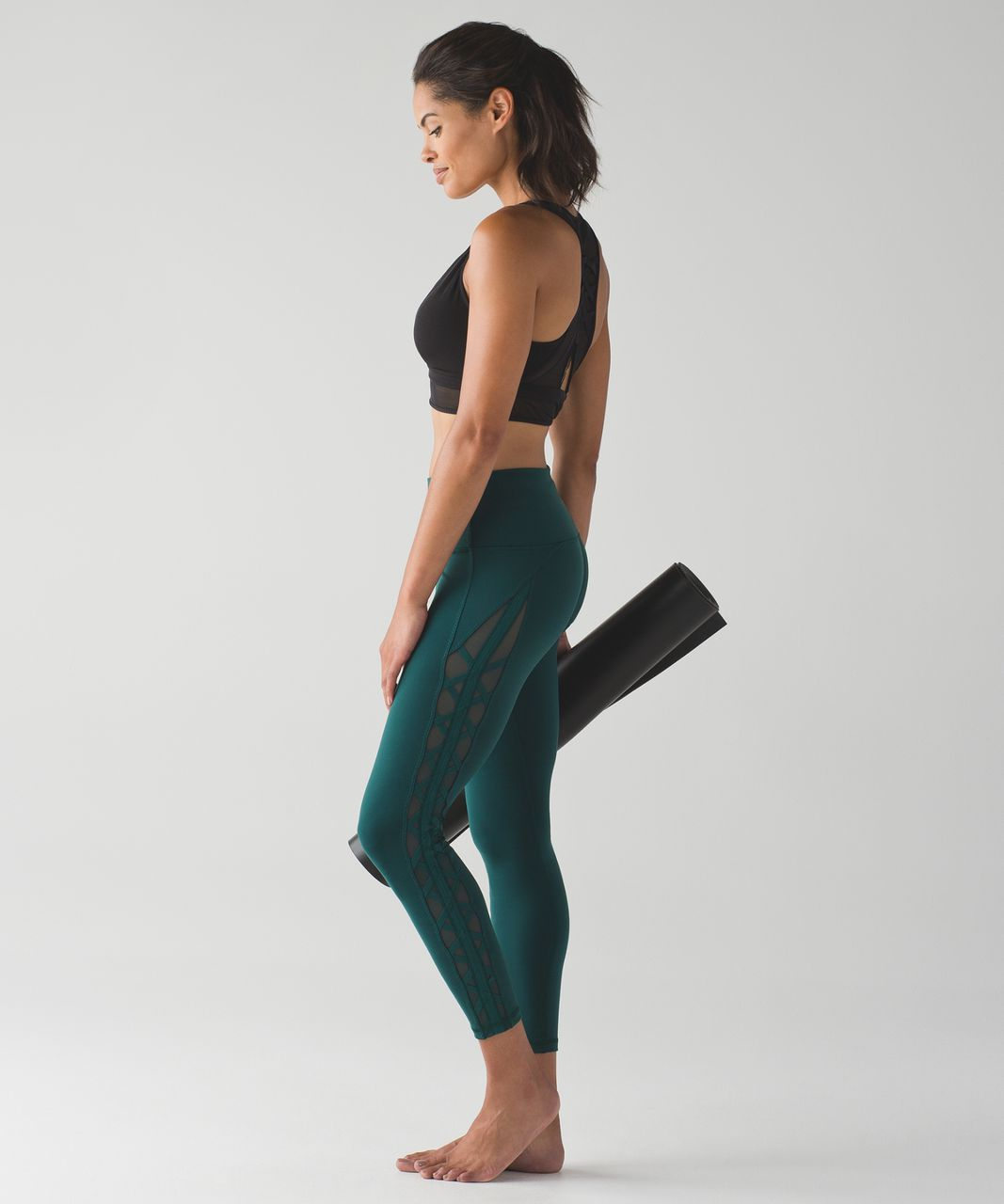 Lululemon High Times Pant (Rhythm) - Deep Green
