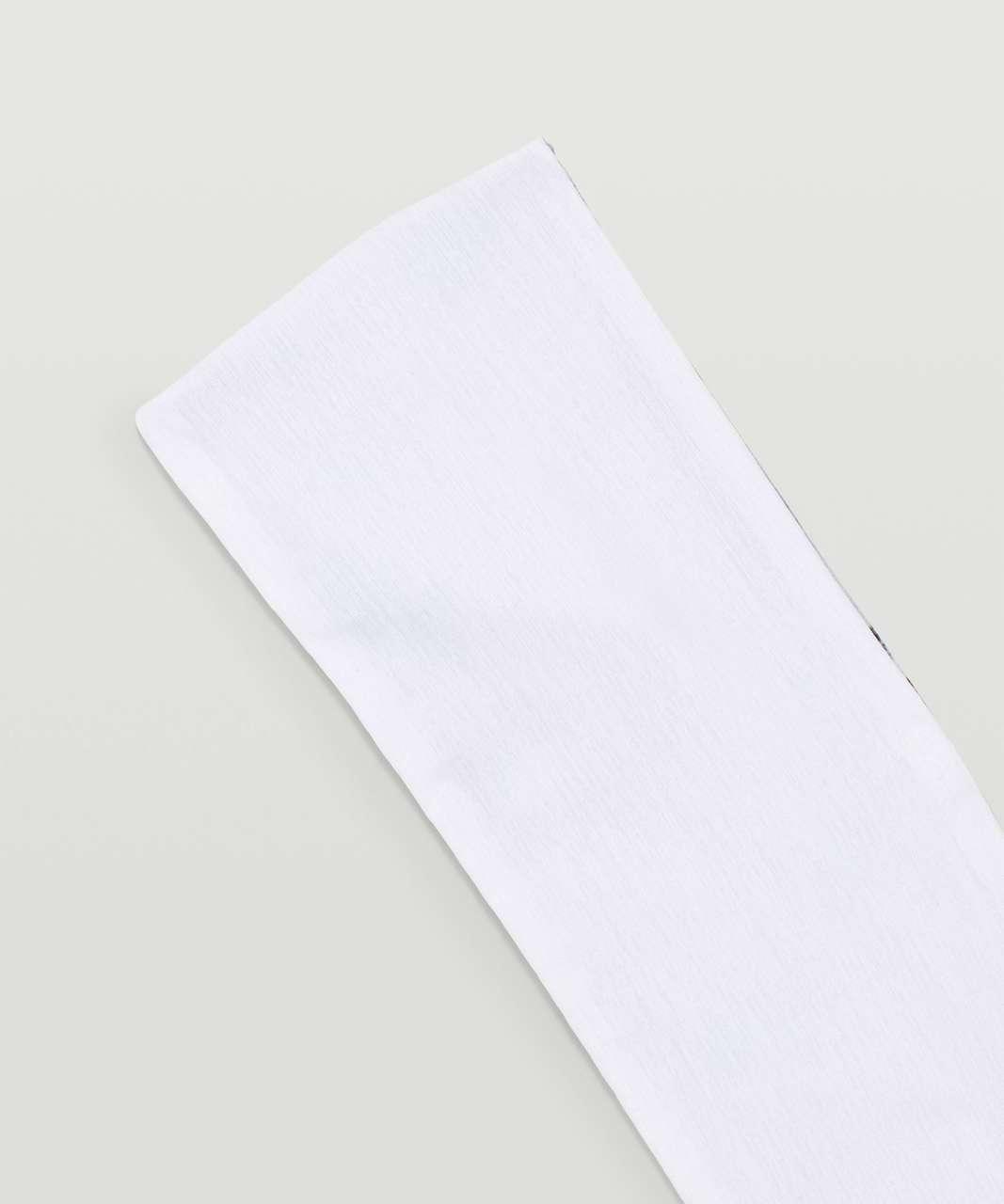 Lululemon Fringe Fighter Headband - Kaleidofloral Multi / White