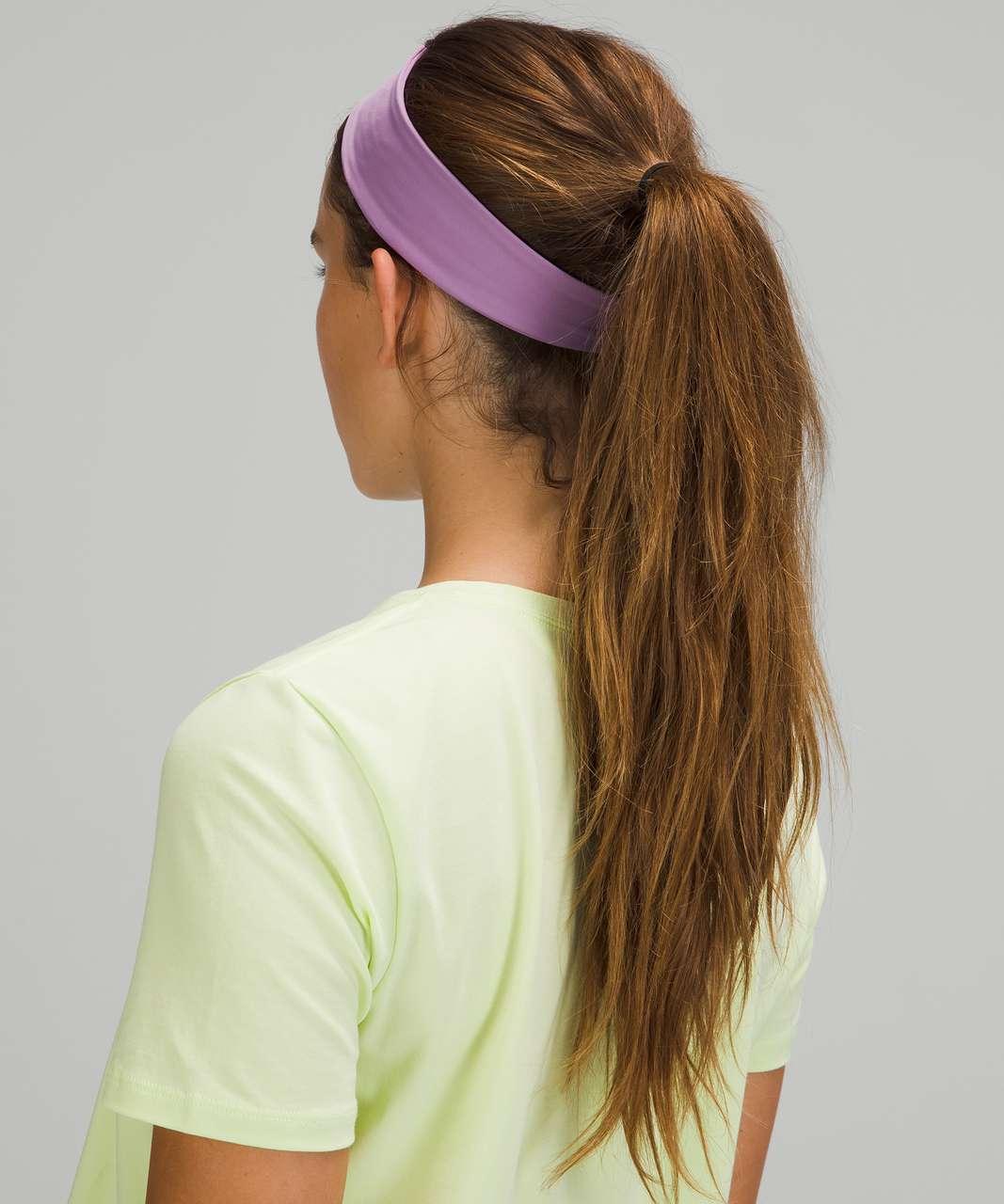 Lululemon Fly Away Tamer Headband *Luxtreme - Wisteria Purple