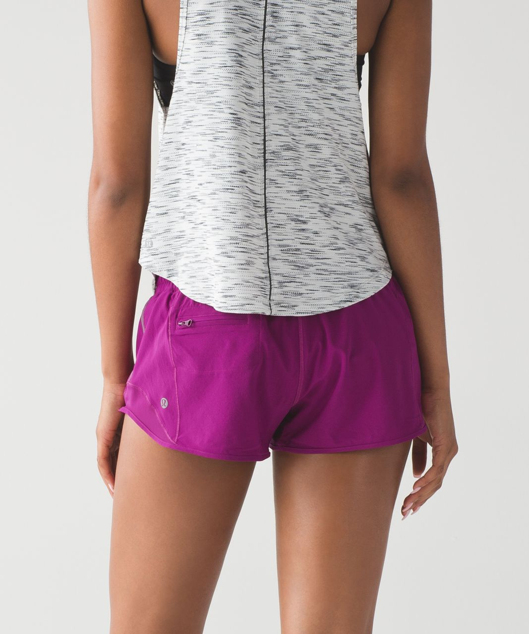 Lululemon Hotty Hot Short - Deep Fuschia