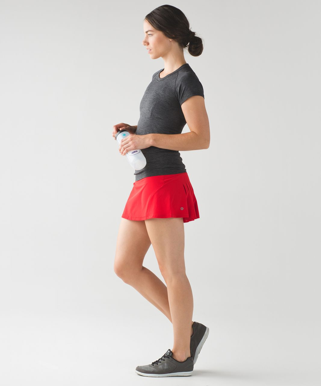 Lululemon Circuit Breaker Skirt (Regular) - True Red