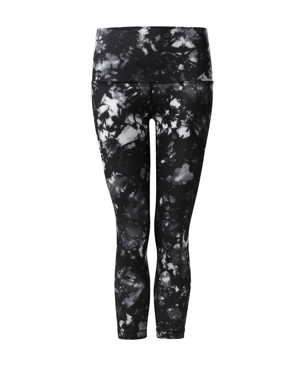 Lululemon Wunder Under Crop (Hi-Rise) - Dusk Dye White Black