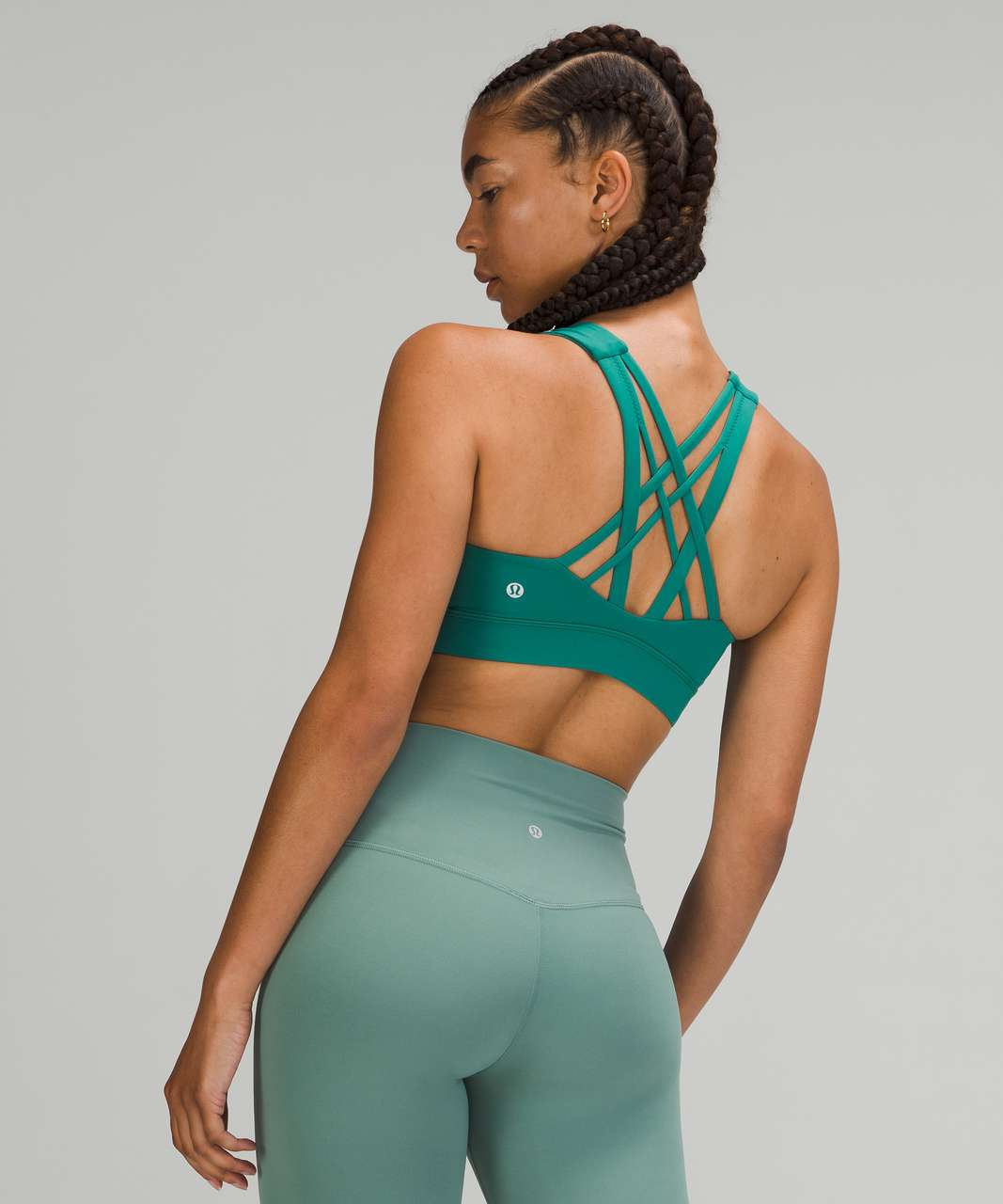 Lululemon Free To Be Elevated Bra *Light Support, DD/E Cup - Teal Lagoon