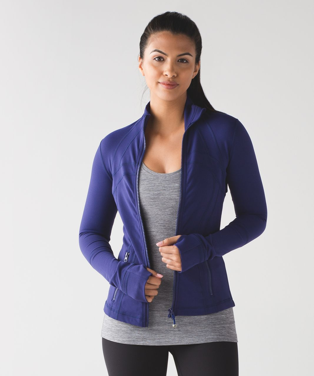 Lululemon Define Jacket - Emperor Blue