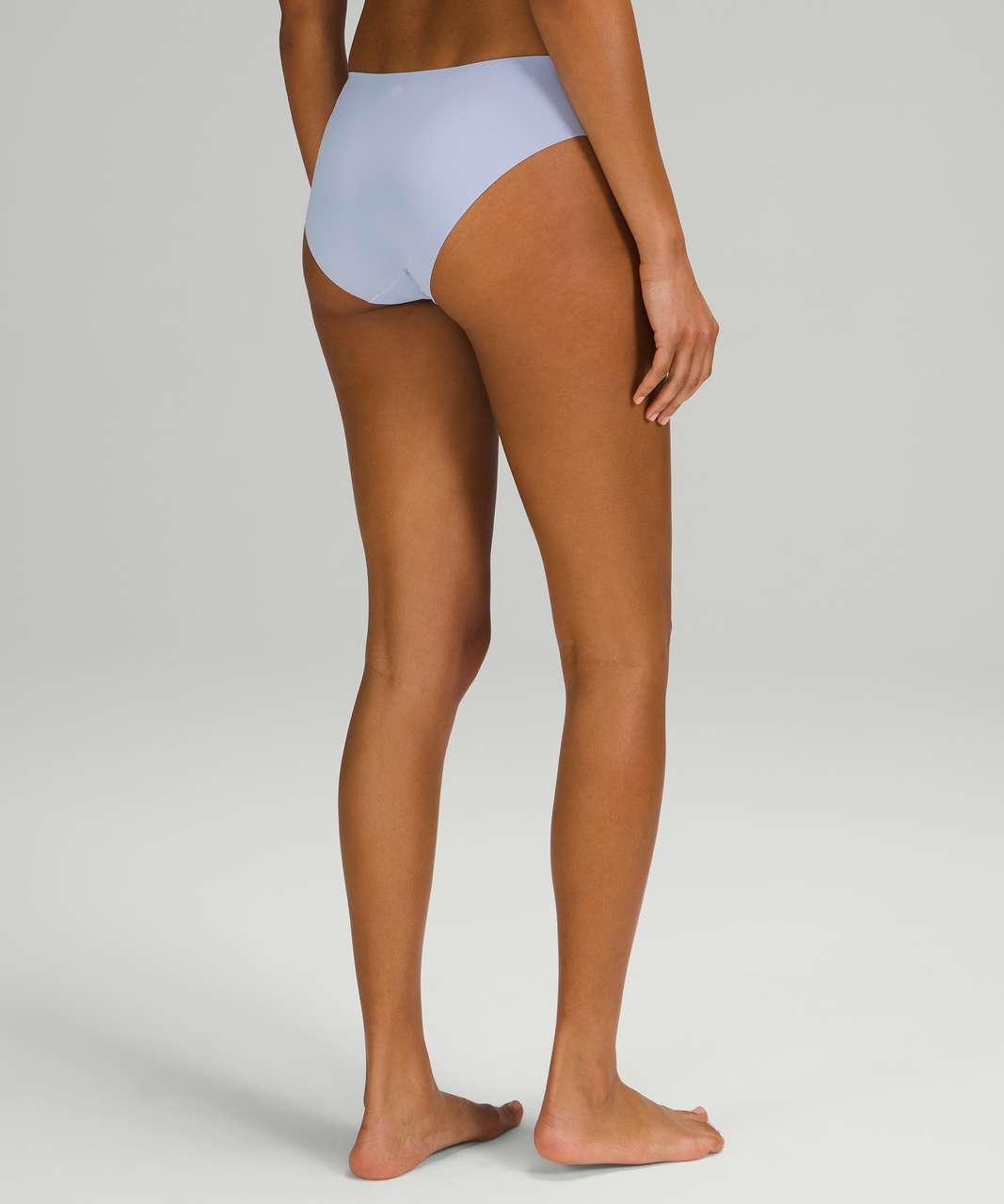 Lululemon InvisiWear Mid Rise Bikini Underwear - Blue Linen