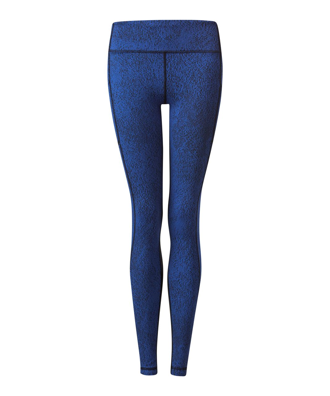 Lululemon Speed Tight V - Power Luxtreme Spray Jacquard Sapphire Blue Black / Black