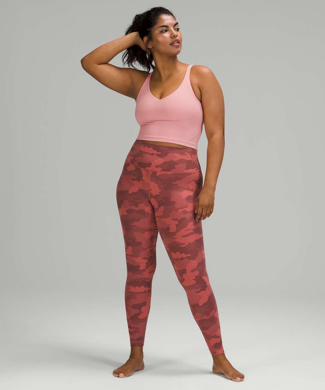 "Lululemon Align High-Rise Pant 28"" - Heritage 365 Camo Brier Rose Multi"