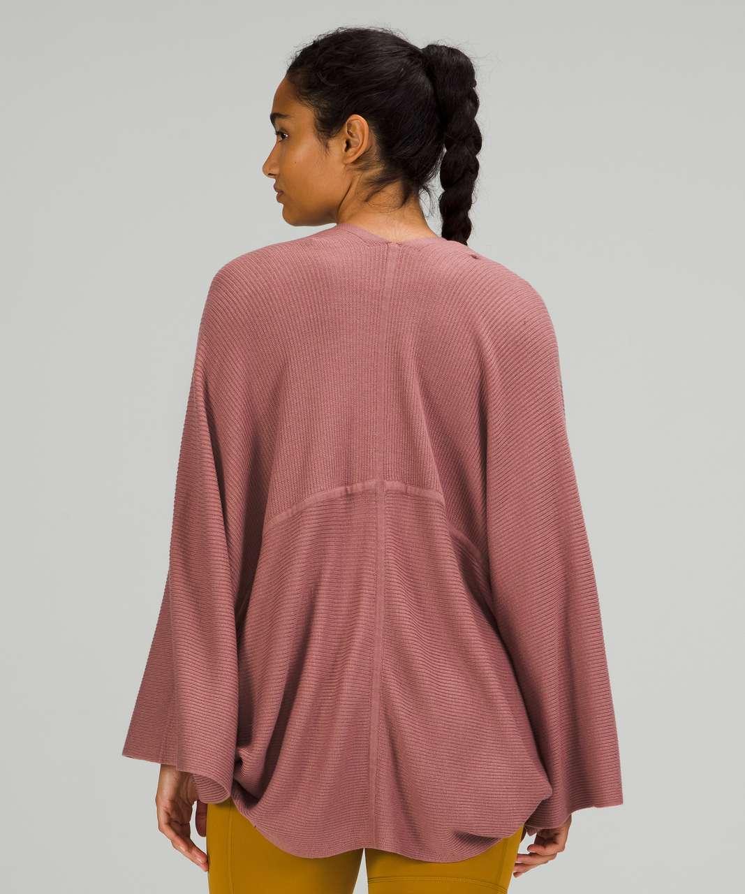 Lululemon Cashlu Knit Textured Wrap - Spiced Chai