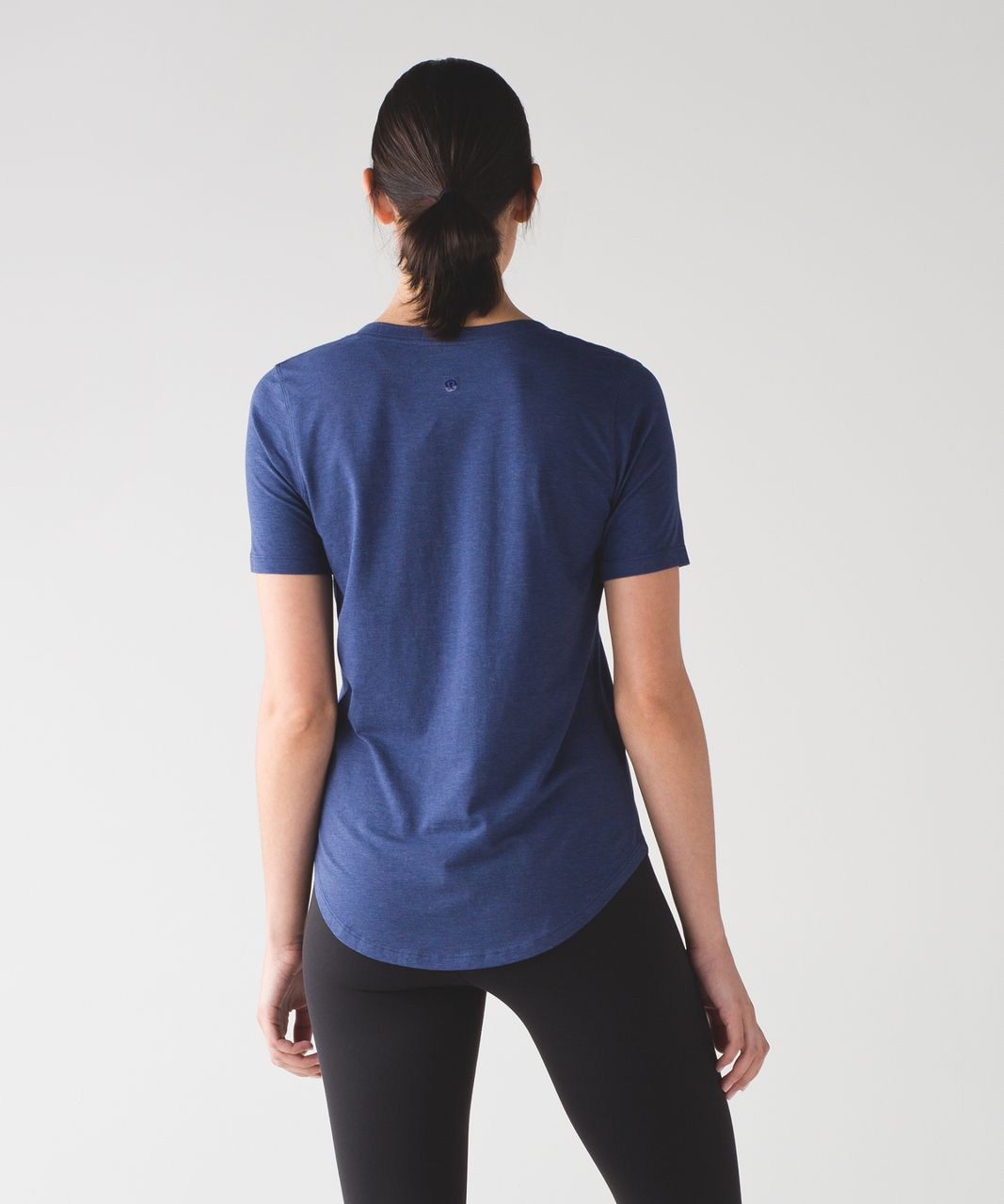 Lululemon Love Tee III - Heathered Emperor Blue