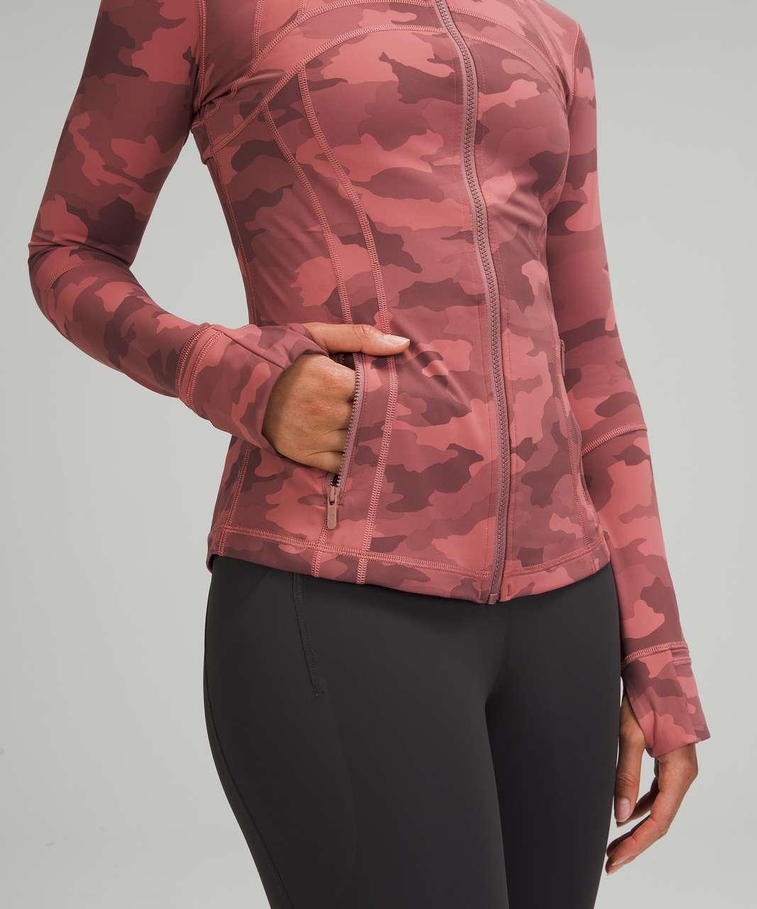 Lululemon Define Jacket - Heritage 365 Camo Brier Rose Multi