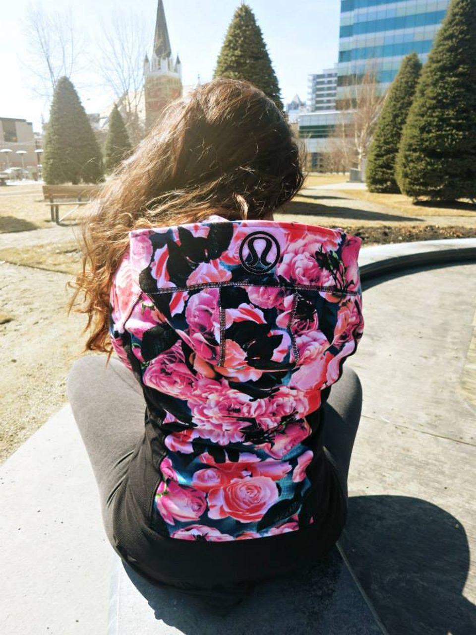 Lululemon Scuba Hoodie II - Secret Garden / Vintage Pink