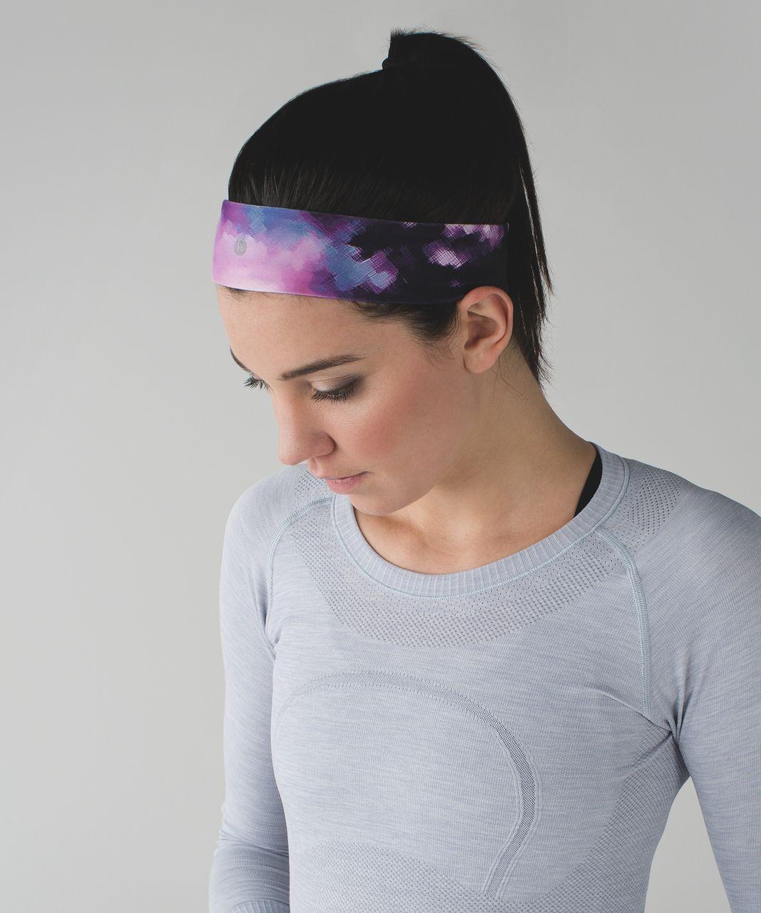 Lululemon Fly Away Tamer Headband II - Blooming Pixie Multi