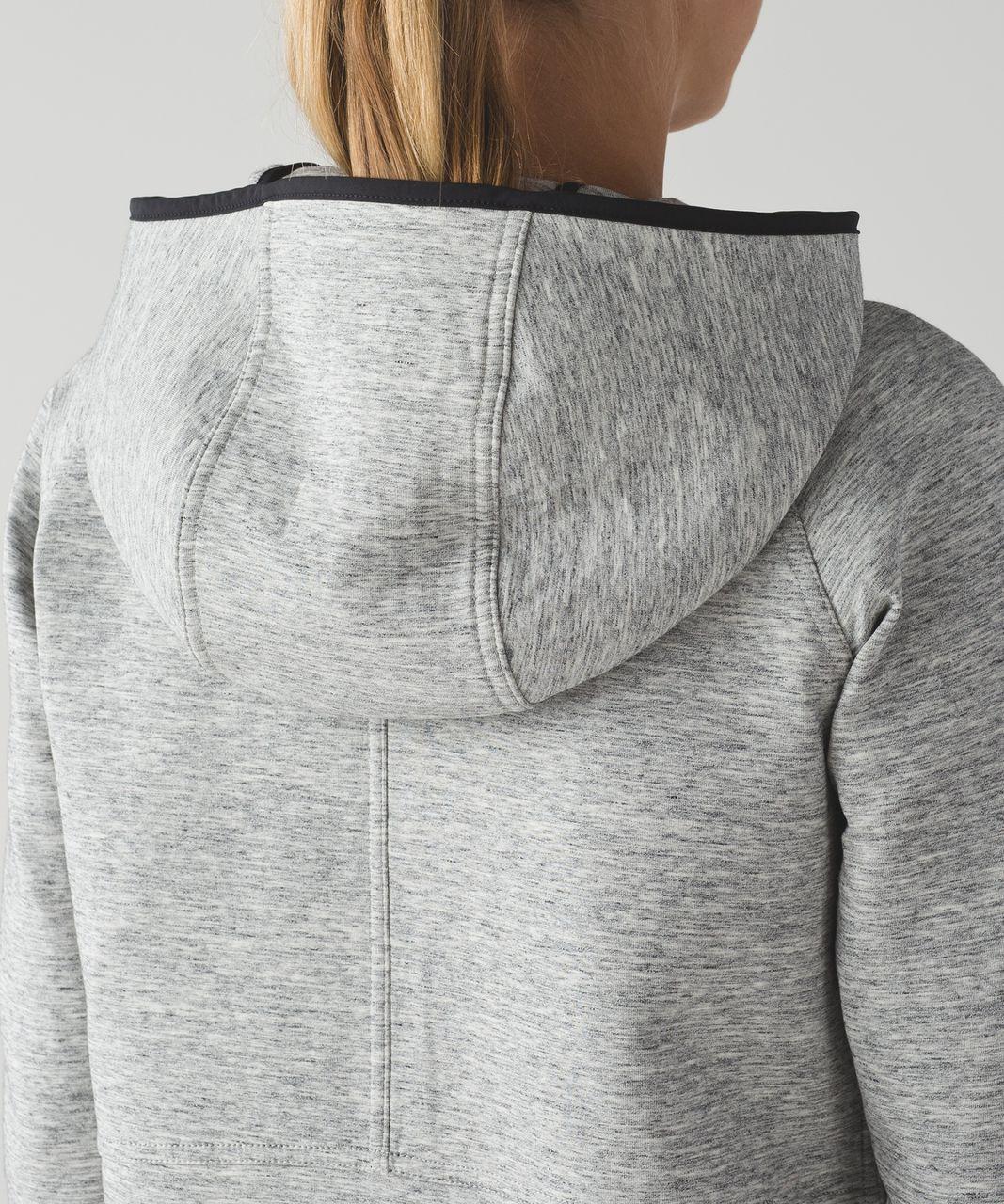 Lululemon City Bound Hoodie - Heathered Space Dyed Medium Grey / Heathered Space Dyed Medium Grey