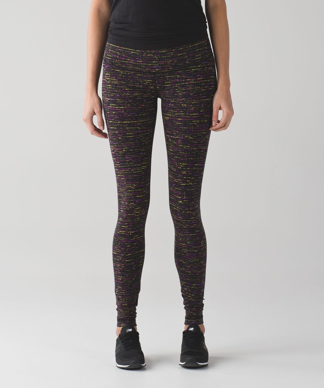 Lululemon Wunder Under Pant III - Tweed Runner Aurora