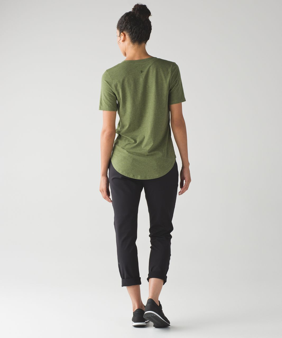 Lululemon Love Tee III - Heathered Brave Olive