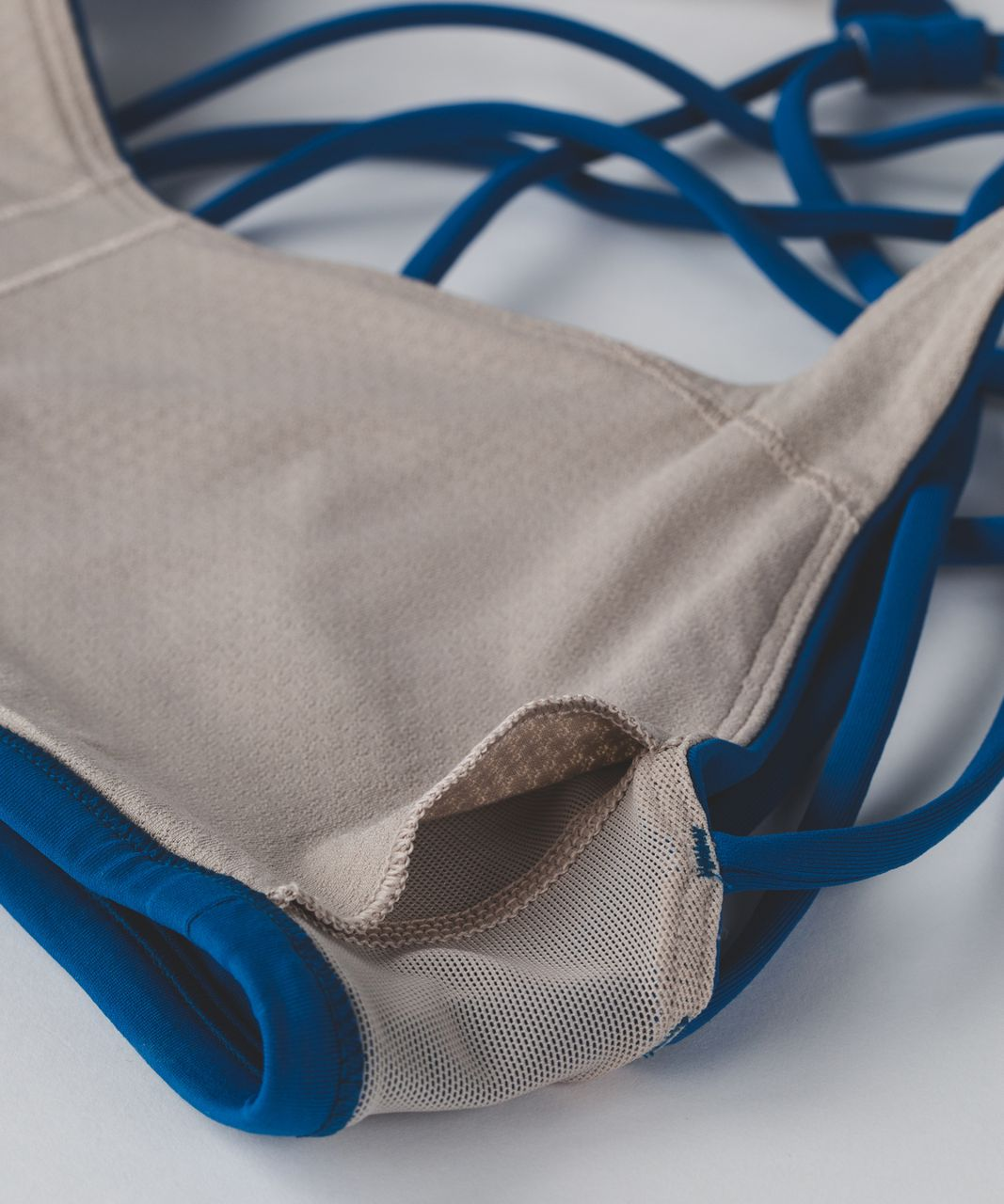 Lululemon Free To Be Bra (Wild) - Jet Set Blue