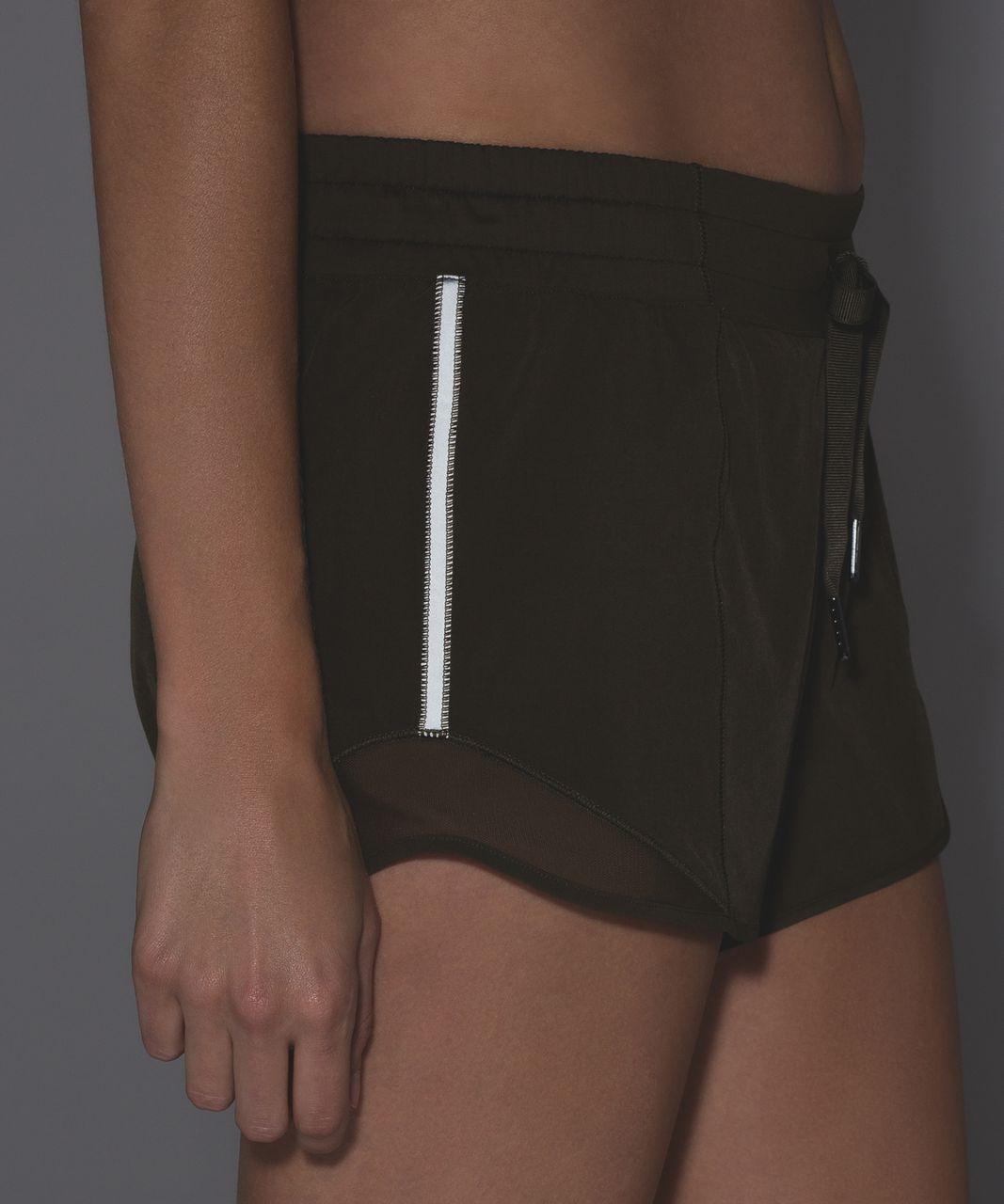 Lululemon Hotty Hot Short (Long) - Military Green