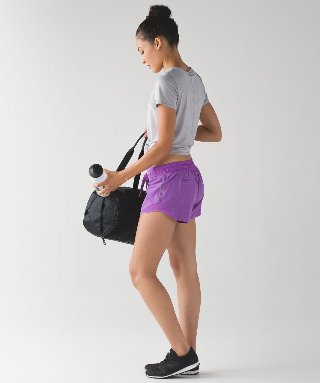 Lululemon Hotty Hot Short (Long) - Moonlit Magenta