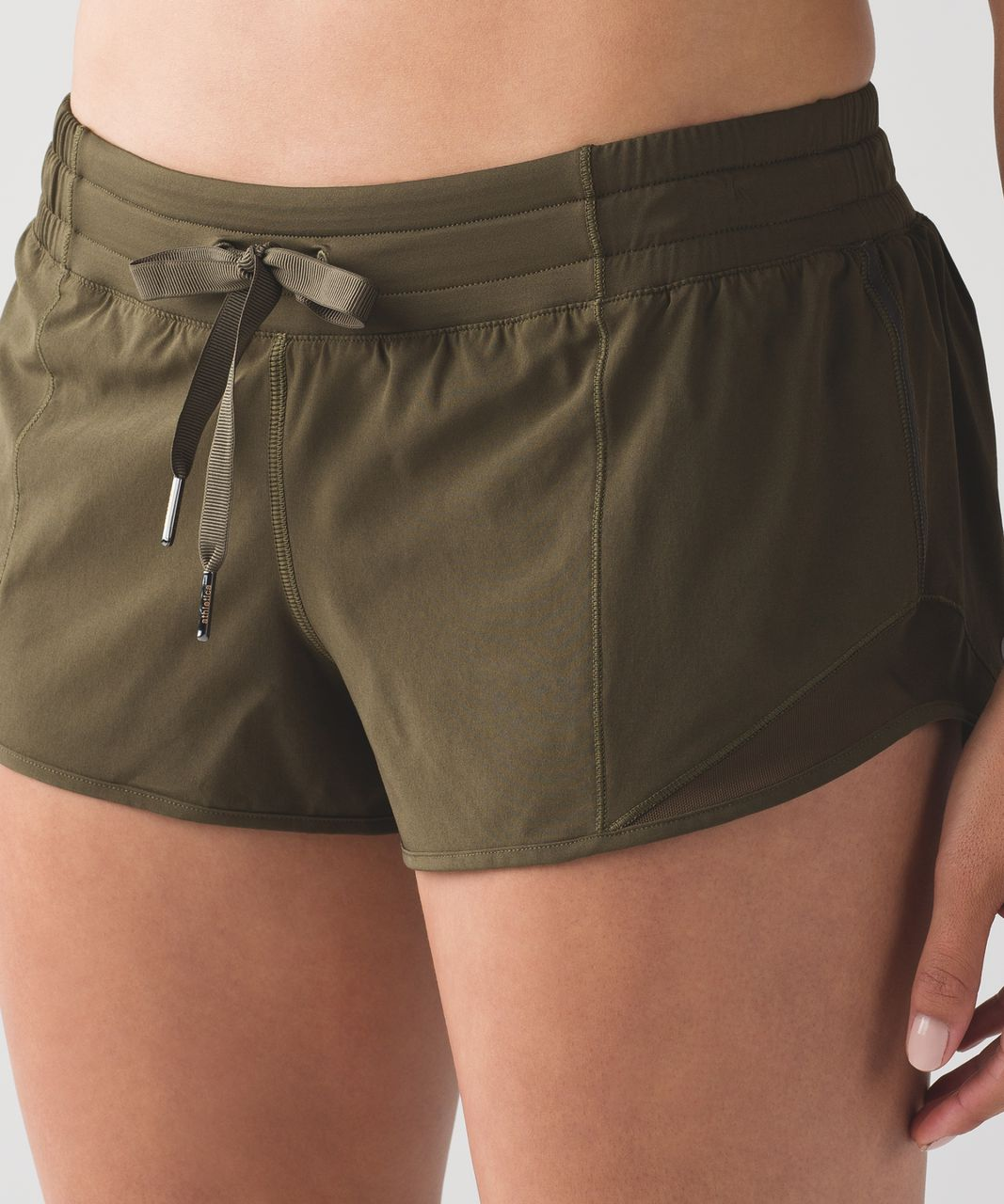 Lululemon Hotty Hot Short - Military Green