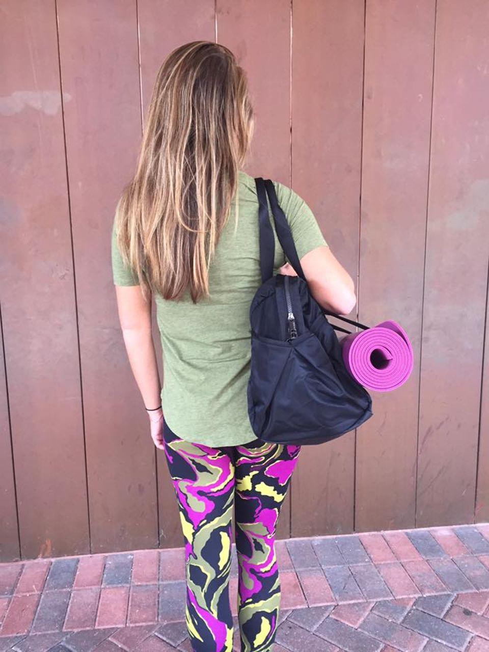 Lululemon Wunder Under Pant (Hi-Rise) - Boom Bloom Chartreuse Green Aurora