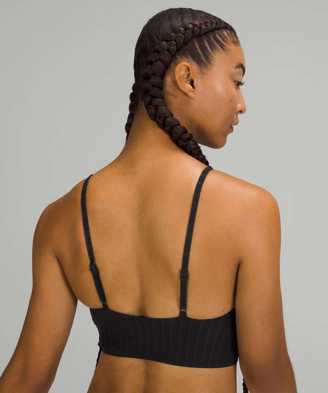 Lululemon Ribbed High-Neck Long-Line Top *B/C Cups - Black