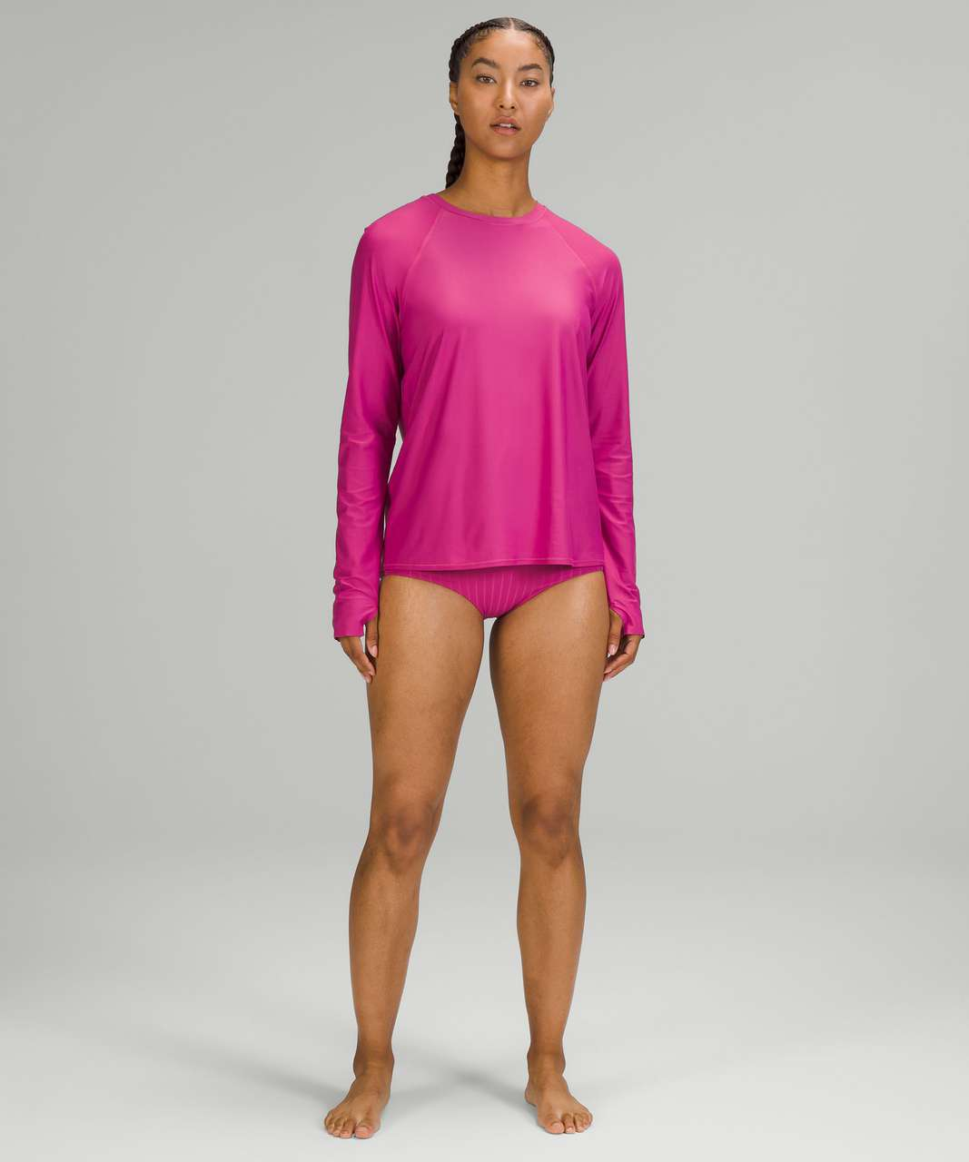 Lululemon Waterside Relaxed UV Protection Long Sleeve - Pink Lychee