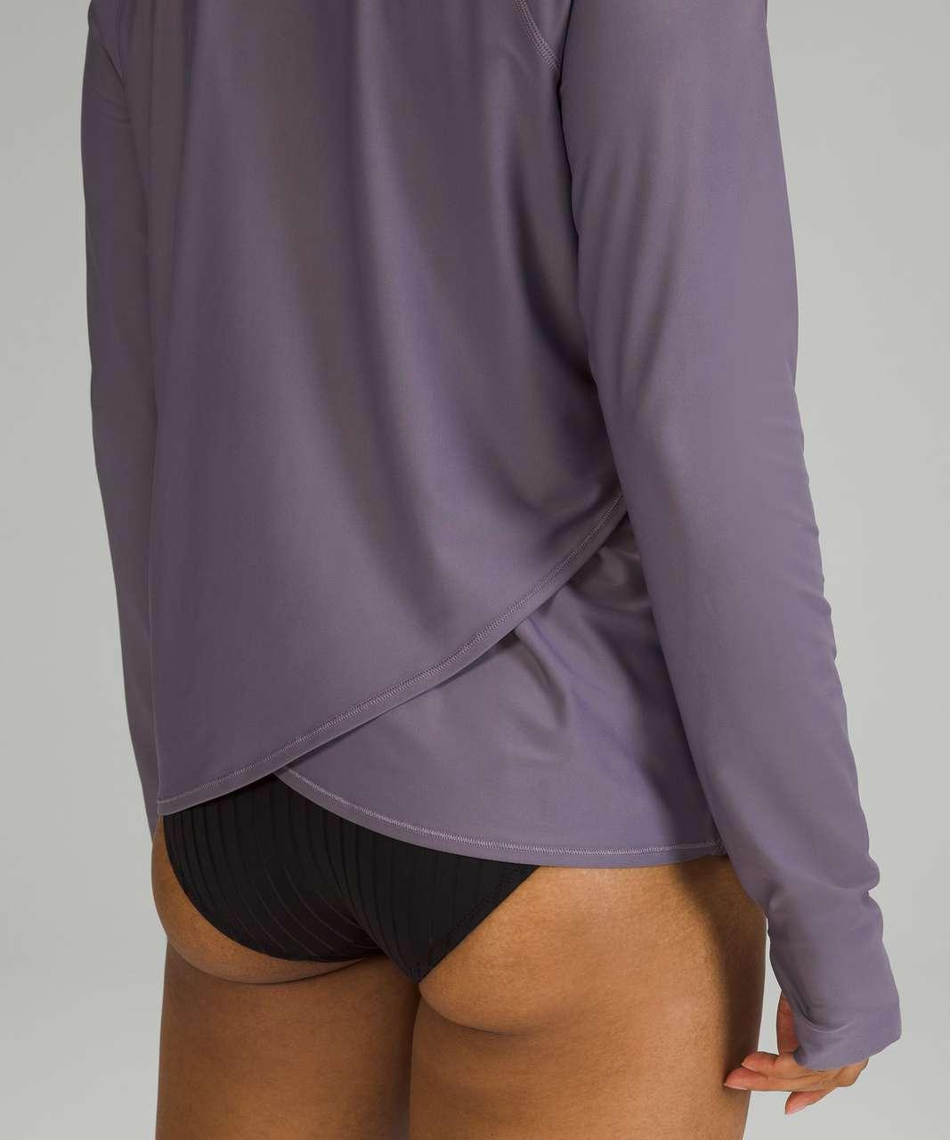 Lululemon Waterside Relaxed UV Protection Long Sleeve - Dusky Lavender