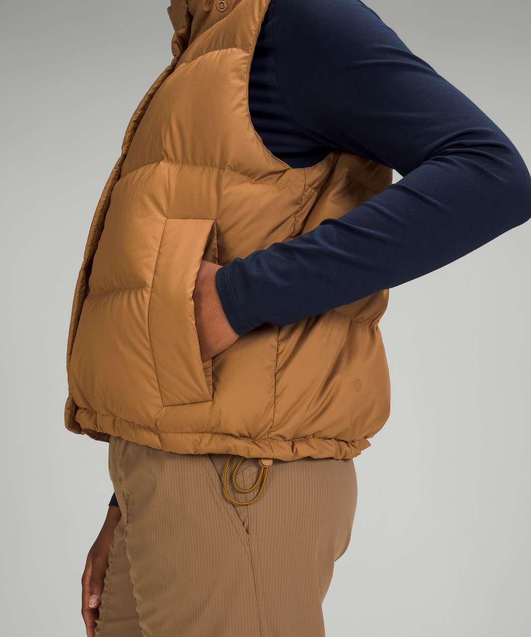 Lululemon Wunder Puff Crop Vest - Bold Beige