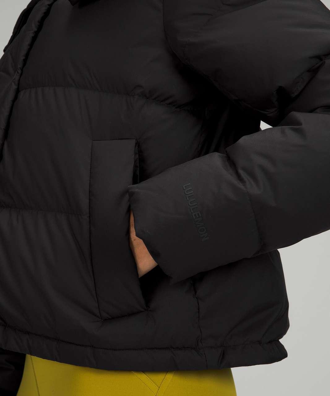 Lululemon Wunder Puff Cropped Jacket - Black