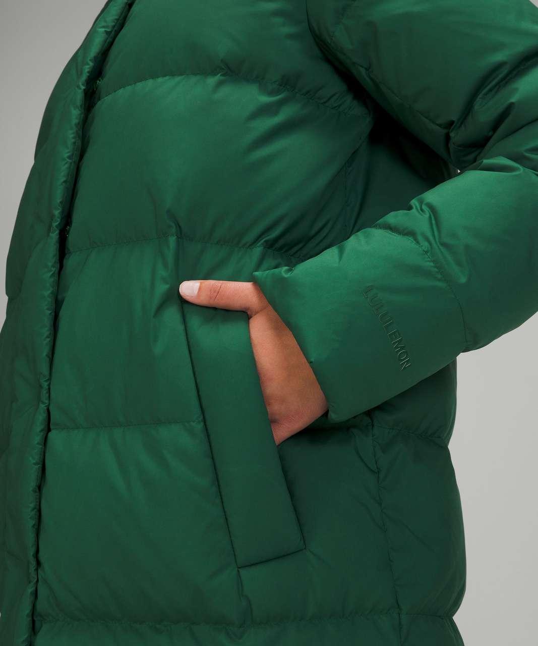 Lululemon Wunder Puff Jacket *Long - Everglade Green